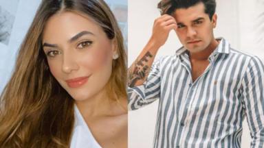 Jade Magalhães e Luan Santana