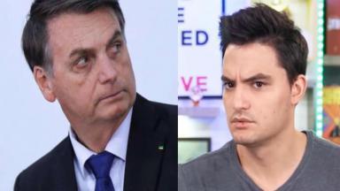 Jair Bolsonaro e Felipe Neto