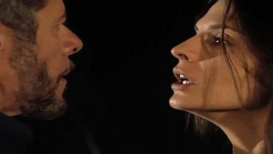 Cena de Laços de Família com Pedro e Cíntia brigando