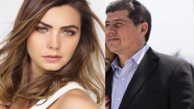 Letícia Datena e Rodrigo Norambuena