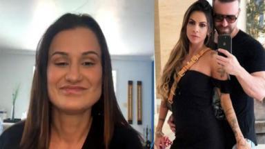 Letícia, Maria Clara e Marlon