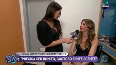 Luciana Gimenez concede entrevista ao Fofocalizando
