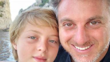 Luciano Huck e Benício