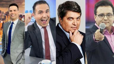 Luiz Bacci, Reinado Gottino, Datena e Geraldo Luiz