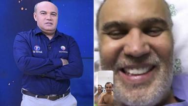 O jornalista Maciel Júnior, comentarista esportivo da TV Jornal