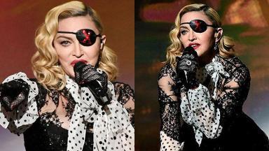 A cantora Madonna teve Covid-19