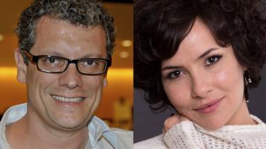 Marcello Airold e Amanda Acosta estarão em Poliana