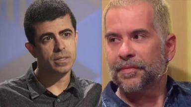 Marcius Melhem e Leandro Hassum