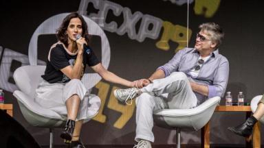 Mariana Lima e Fábio Assunção na CCXP19