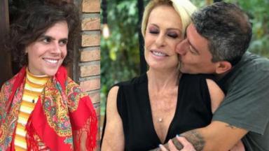 Mariana Maffeis, Ana Maria Braga e Tom Veiga