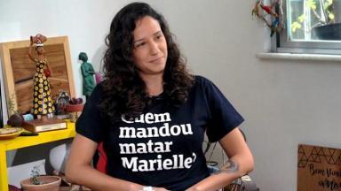 Monica Benicio, viúva de Marielle Franco, entrevistada do Em Foco com Andreia Sadi