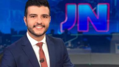 Matheus Ribeiro no Jornal Nacional