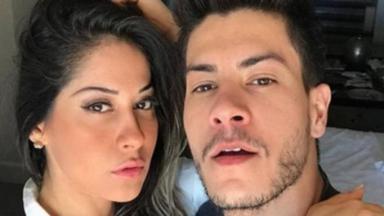 Mayra Cardi e Arthur Aguiar juntos