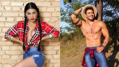 Miss Brasil Juliana Malveira e Mister Brasil Antony Marquez