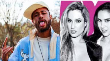 Neymar, Camila Remedy e Fernanda Brum