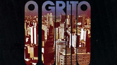 """Logotipo da novela """"O Grito"""""""