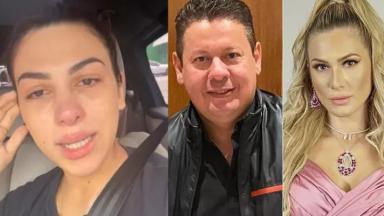 Pétala, Marcos e Lívia Andrade