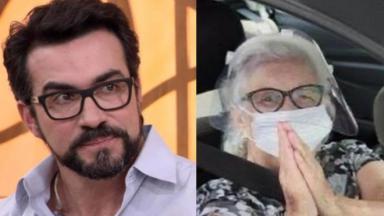Padre Fábio de Melo e Dona Ana Maria