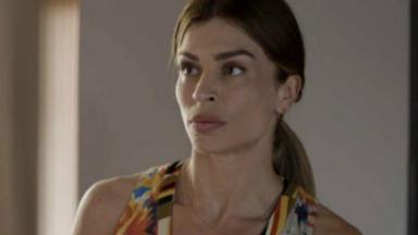 Paloma olhando para frente em Bom Sucesso