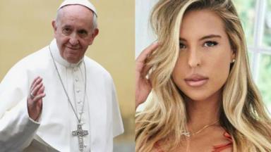 Papa Francisco e Natalia