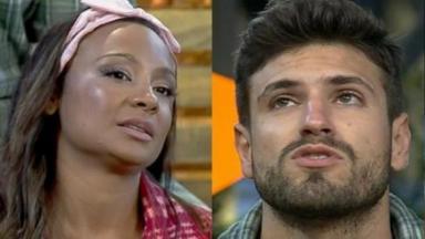 Drika Marinho e Guilherme Leão na Roça