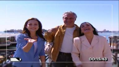 """Gabriela Duarte, Antônio Fagundes e Regina Duarte em """"Por Amor"""""""