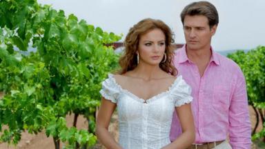 Cena de Quando me Apaixono com Jerônimo e Renata