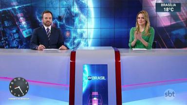 Rachel Sheherazade aplaude ministra do STF, Cármen Lúcia, no SBT Brasil