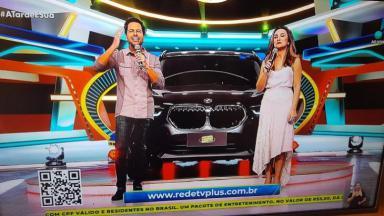 RedeTV! divulgando seu site para sorteio de prêmio