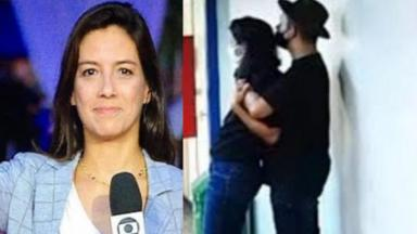 Repórter Marina Araújo