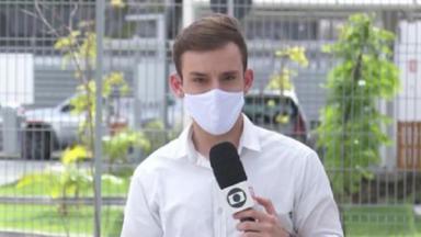 Repórter Danilo César, da Globo no Pernambuco