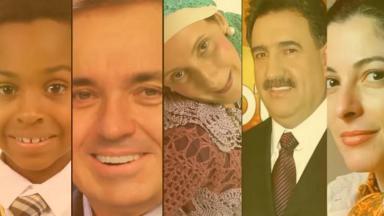 Ana Paula Padrão, Jean Paulo Campos, Ratinho, Filó e Gugu