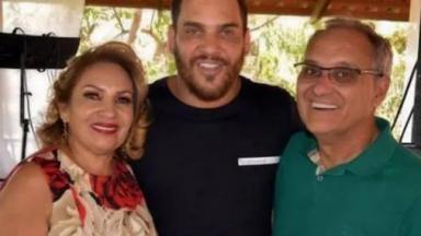 Shirlei, Cauan e José Luiz