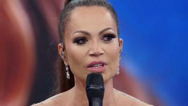 Solange Almeida participou do Domingão do Faustão