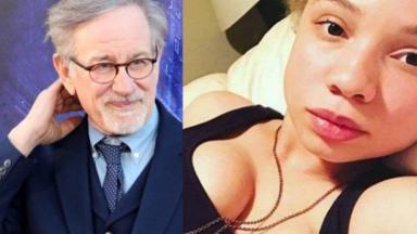 Steven e Mikaela Spielberg