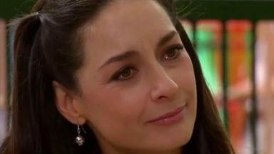 Beatriz emocionada com indicação de Cristina