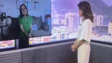 Susana Naspolini de volta ao RJTV