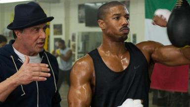 Cena do filme Creed - Nascido para lutar