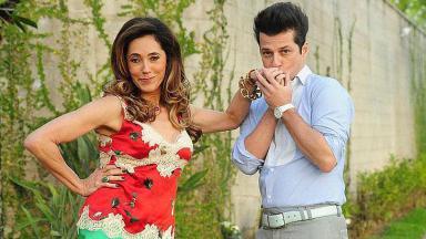 Thereza Cristina e Crô em cena de Fina Estampa