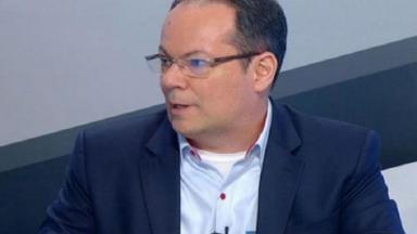 Wagner Vilaron durante participação em programa do SporTV