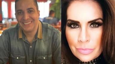 Waguinho e Solange Gomes