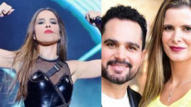 Wanessa, Luciano e Flávia Camargo