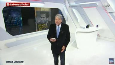 Datena fala de Silvo Santos