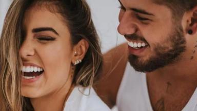 Zé Felipe e Isabella Arantes