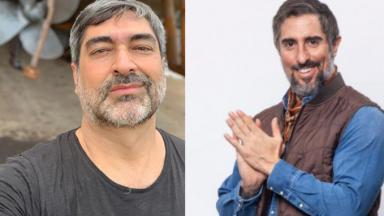 Zeca Camargo e Marcos Mion