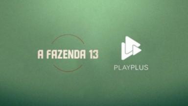 Logo A fazenda 13 e PlayPlus