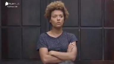 Na sala, Lidi Lisboa reprova punição em A Fazenda 2020