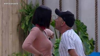 Gabi briga com Rafael Ilha