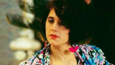 Christiane Torloni em cena da novela A Gata Comeu, de 1985