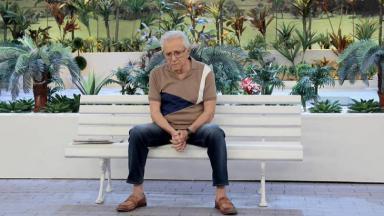 Carlos Alberto de Nóbrega em A Praça é Nossa